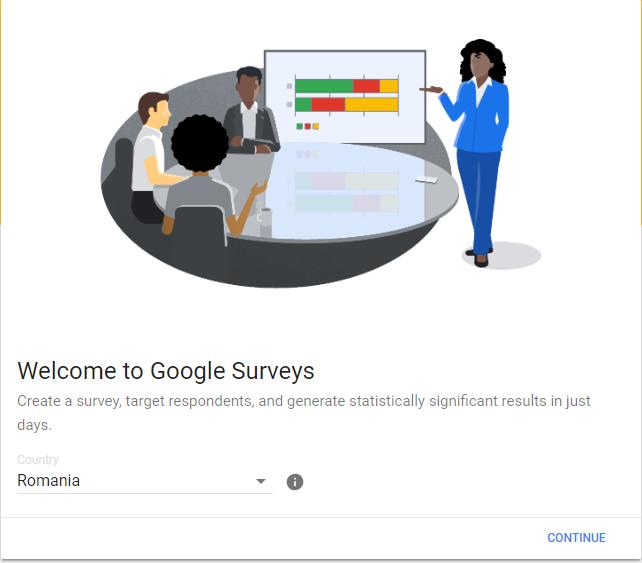 Google Surveys din România